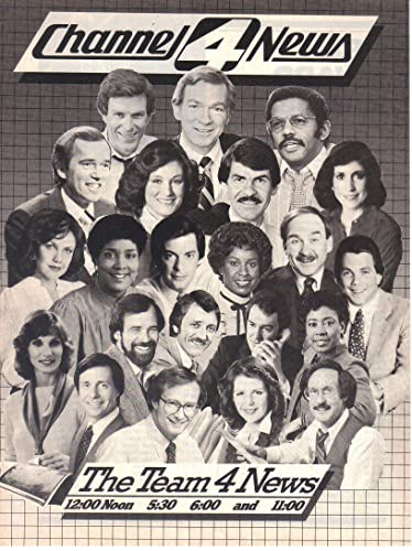 Vintage Print Ad: Channel 4 News Team,