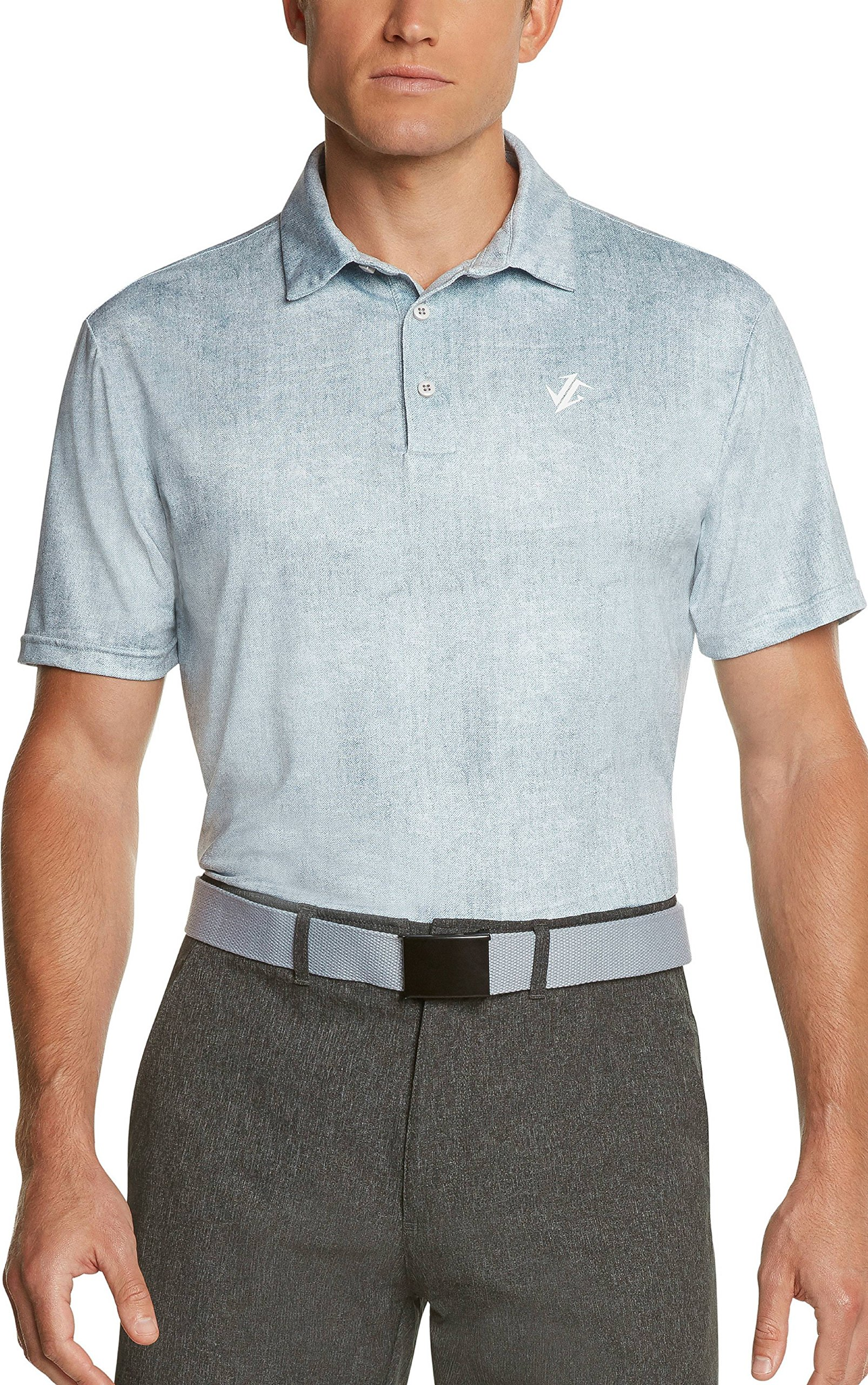 c51d33b52 Jolt Gear Golf Shirts for Men - Dry Fit Short-Sleeve Polo, Athletic Casual