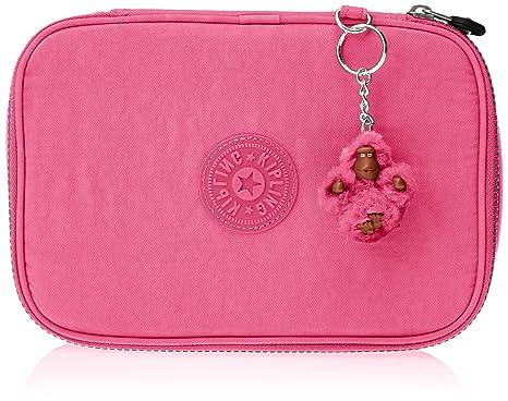 Kipling 100 PENS Estuche Grande, Carmine Pink (Rosa)