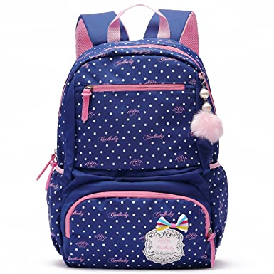 Amazon.com | Ali Victory Waterproof Cute Backpack for Girls Large ...