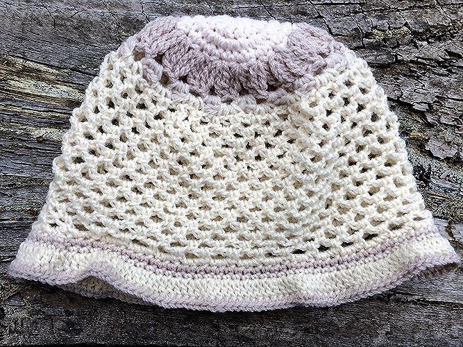Amazon Baby Hat Baby Floral Hat Crocheted Australian Wool Hat