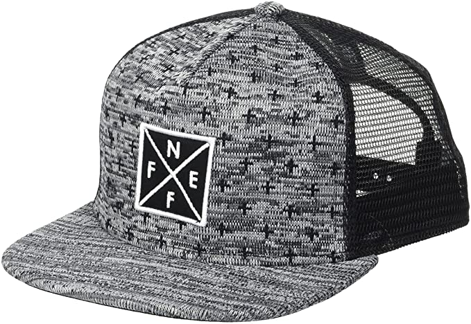 a103562bcbdab Neff Men s Tilted Mesh Hat-Flat Billed Trucker Baseball Cap