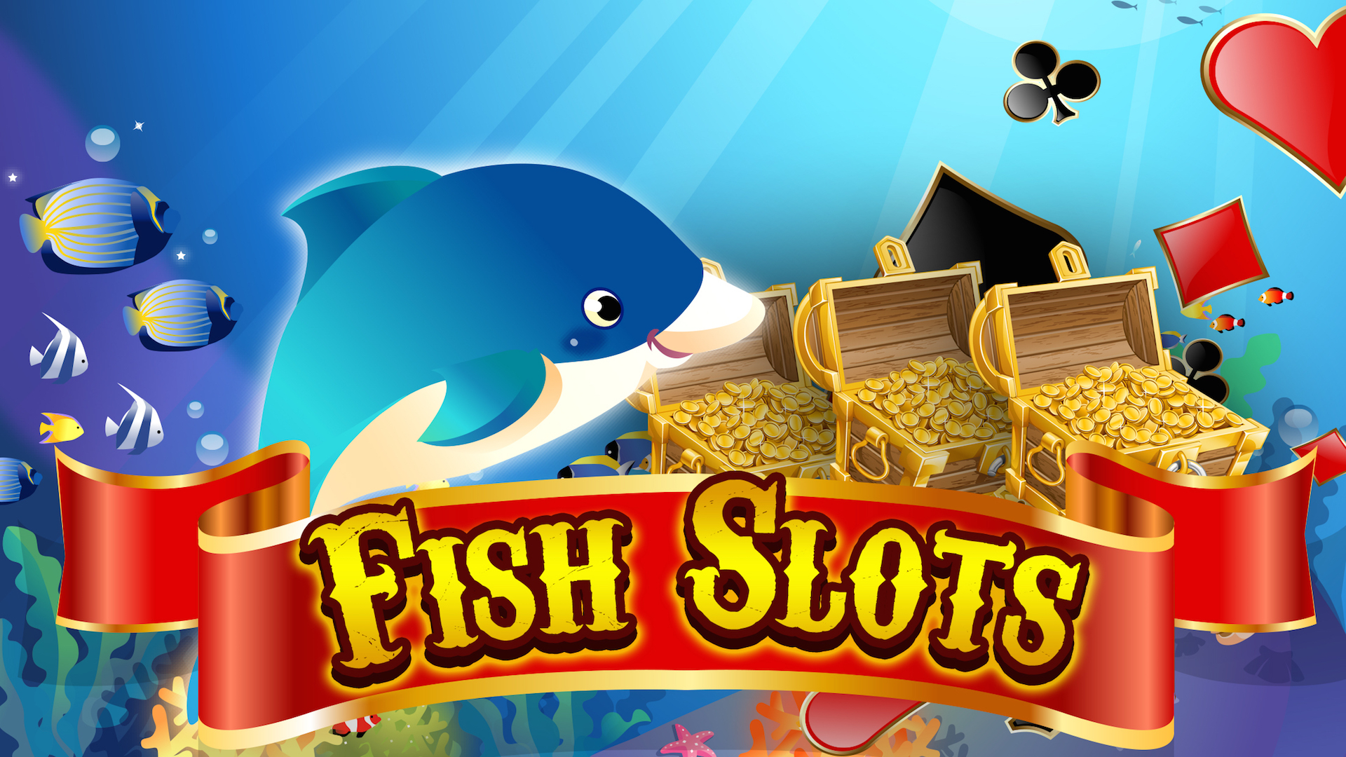 Big fun fish slots casino machine for android for Gold fish casino promo codes