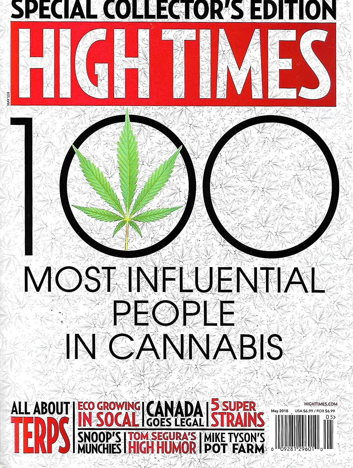 "High Times ""100 Most Influential People"""