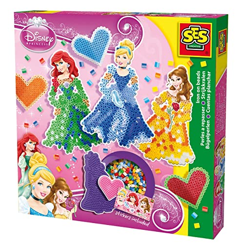 Ses - 14733 - Perles À Repasser - Disney Princesse