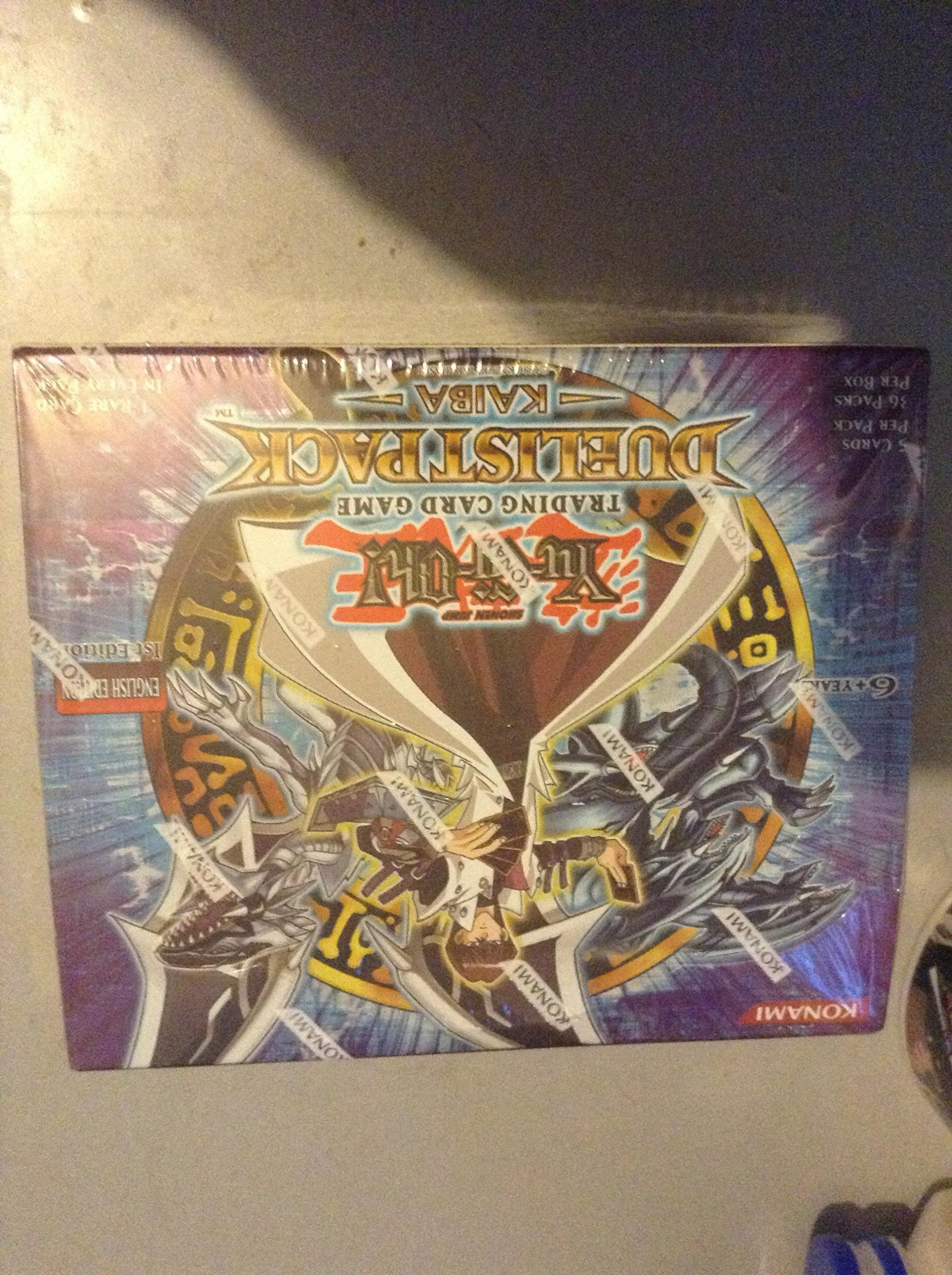 YuGiOh Kaiba Duelist Booster Box 36 Packs
