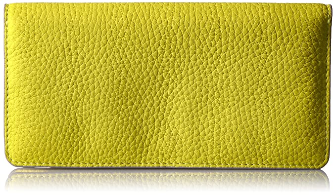 ECCO Jilin Large Wallet, Carteras Mujer, Amarillo (Sulphur), 1,5