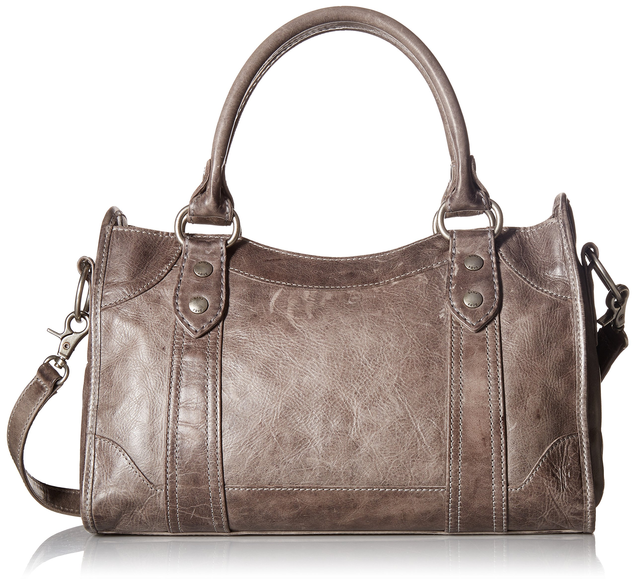 FRYE Melissa Satchel Bag, Ice, One Size