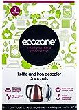 Ecozone Kettle & Iron Descaler, Removes Limescale Build Up, Helps Appliances Last Longer, 3 Applications