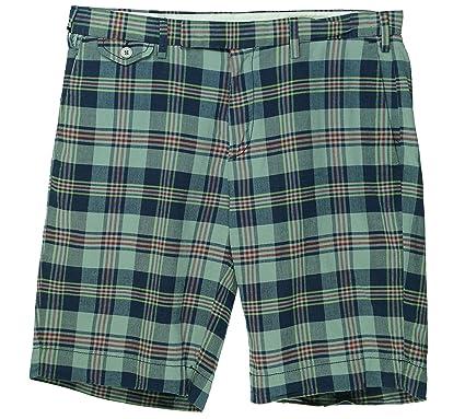 Polo Ralph Lauren Men's India Madras Plaid Shorts at Amazon Men's ...