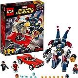 LEGO Marvel Super Heroes 76077 - Iron Man gegen Detroit Steel, Superhelden-Spielzeug