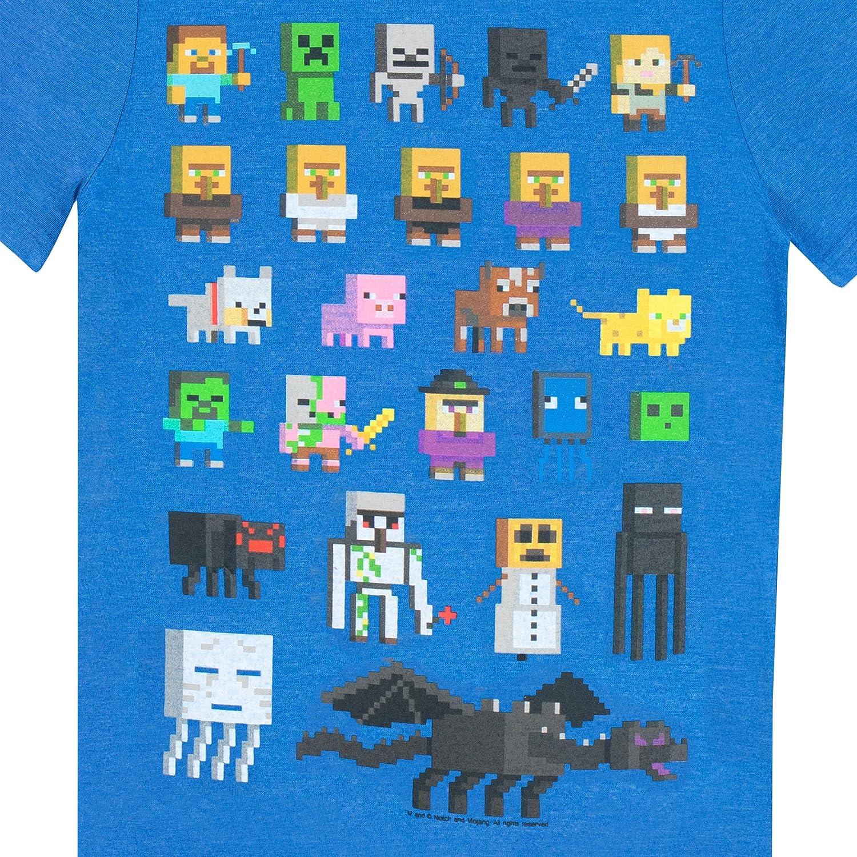 Amazon minecraft boys minecraft short sleeved t shirt clothing gamestrikefo Choice Image