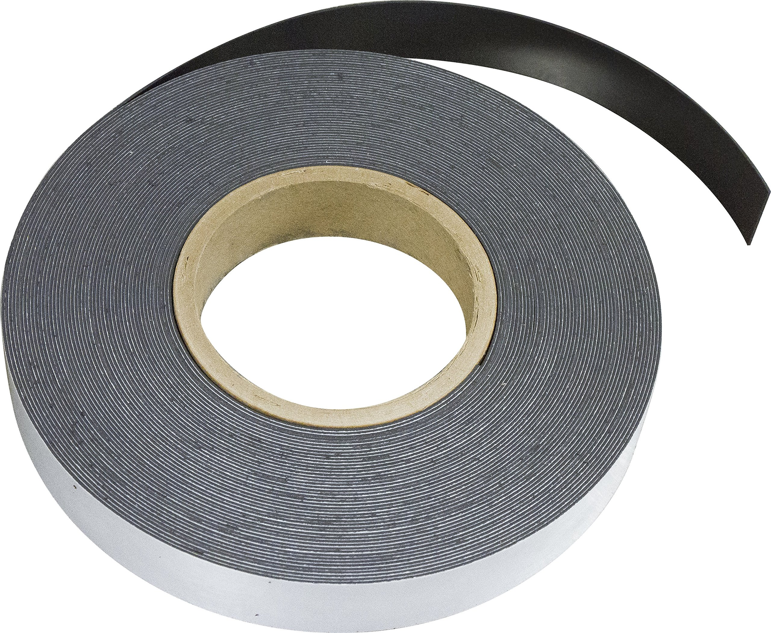 MAG-MATE MRA060X0100X050 Flexible Magnet Material with Adhesive, 0.060 x 1 x 50'