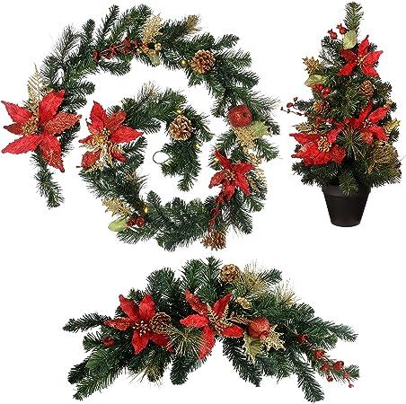 Guirlande guirlandes Décorations de Noël Noël sapin de Noël décoration deco 2m