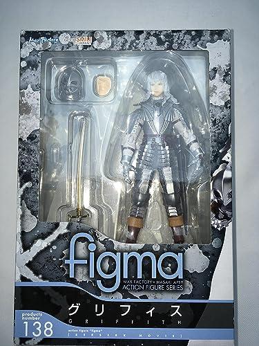 Figma 138 Berserk Griffith Figurine Max Factory Nouveau de Japon