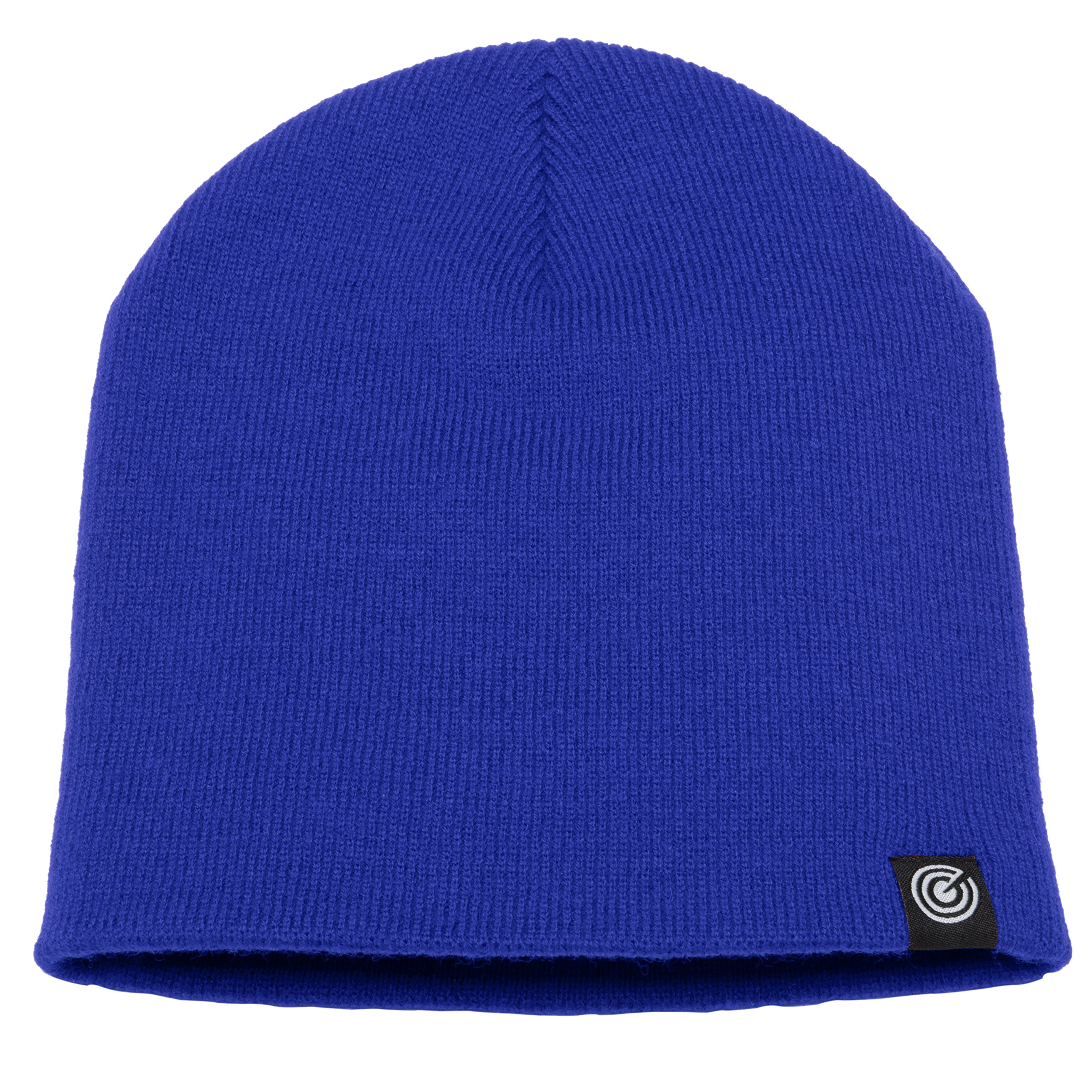 Evony Original Beanie Cap - Soft Knit Beanie Hat - Warm and Durable (Royal Blue)