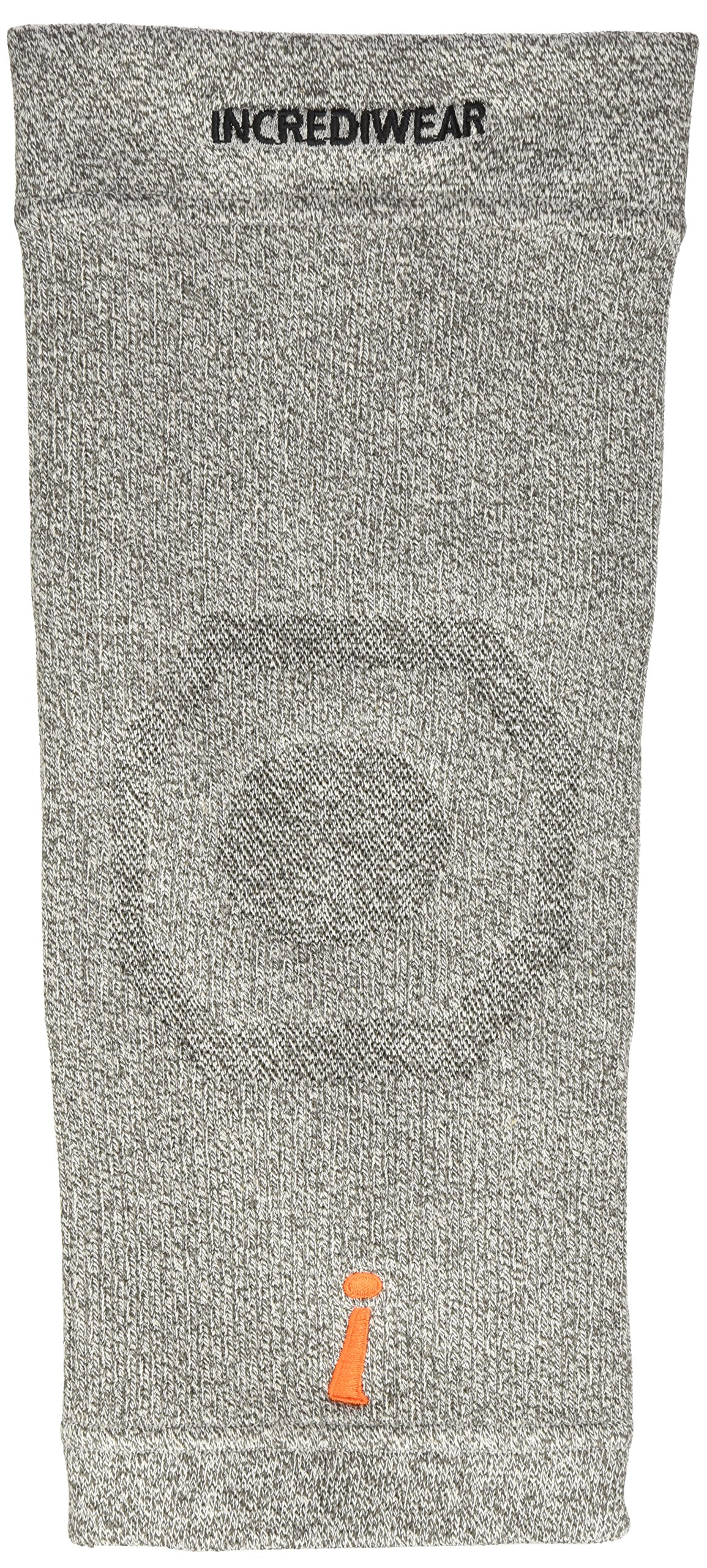Incrediwear Incredibrace - Knee Support Brace Large 14-16 Inches, Gray by Incrediwear