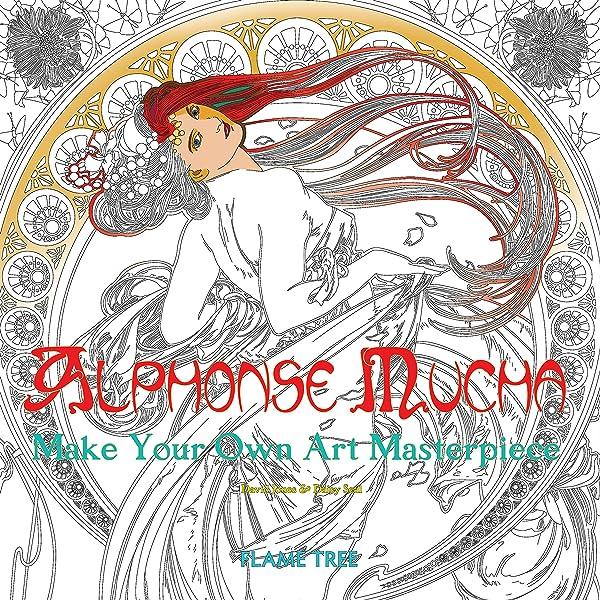 - Amazon.com: Alphonse Mucha (Art Colouring Book): Make Your Own Art  Masterpiece (Colouring Books) (9781786640468): Seal, Daisy, Flame Tree  Studio: Books