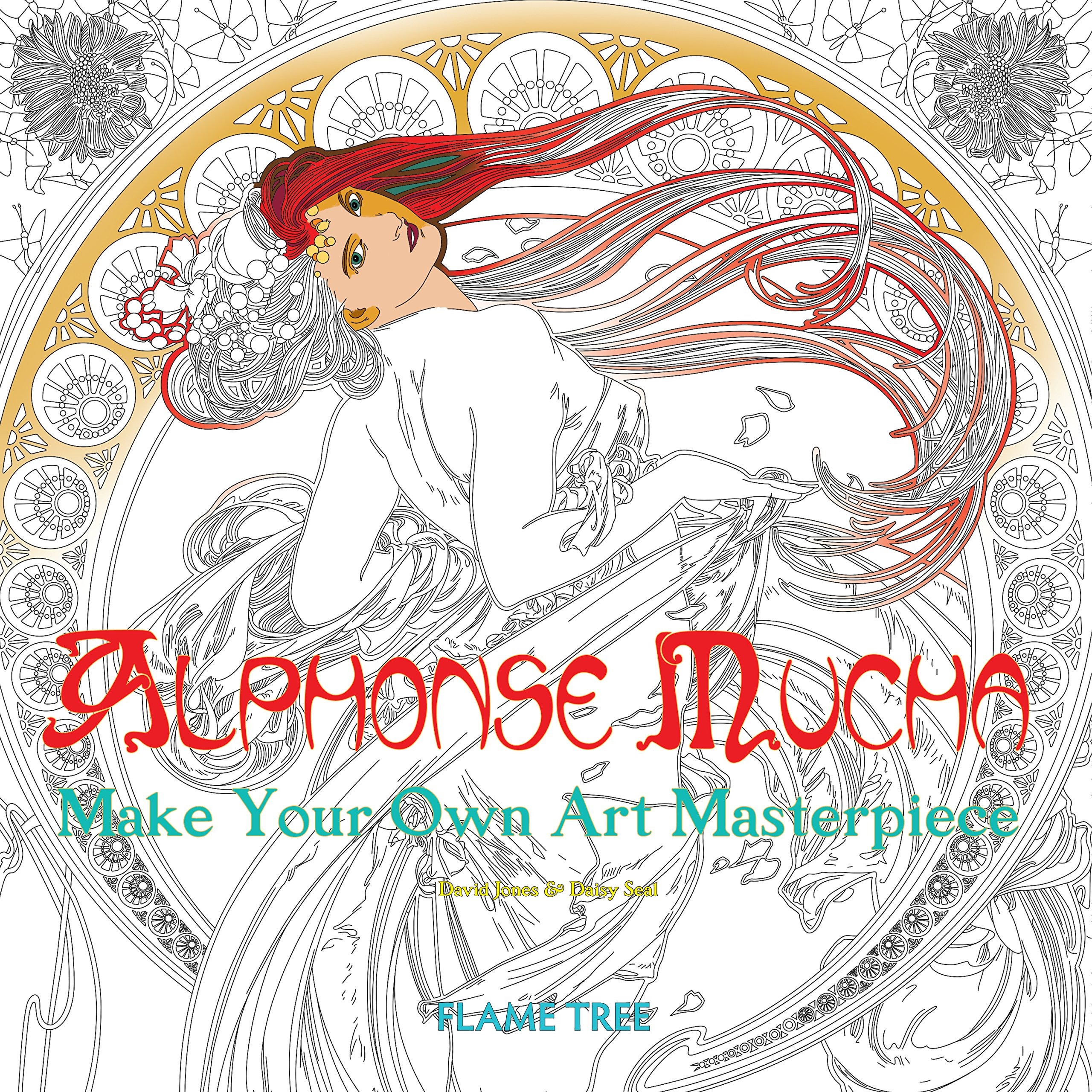 Amazon.com: Alphonse Mucha (Art Colouring Book): Make Your ...