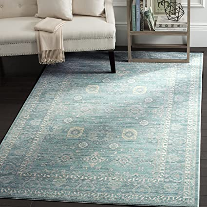 74091041f2 Amazon.com  Safavieh Valencia Collection VAL110B Alpine and Multi ...