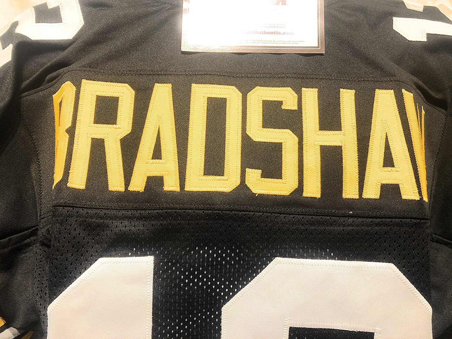 Terry Bradshaw Pittsburgh Steelers Signed Autograph Custom Jersey ...