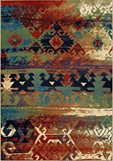 "product image for Orian Rugs Mardi Gras Elk River Area Rug, 7'10"" x 10'10"", Multicolor"
