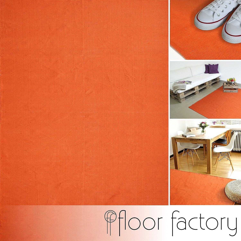 Moderner Baumwoll Teppich Living grün 120x170cm 120x170cm 120x170cm - waschbarer Webteppich aus 100% Baumwolle B076QH12V3 Teppiche df8df2