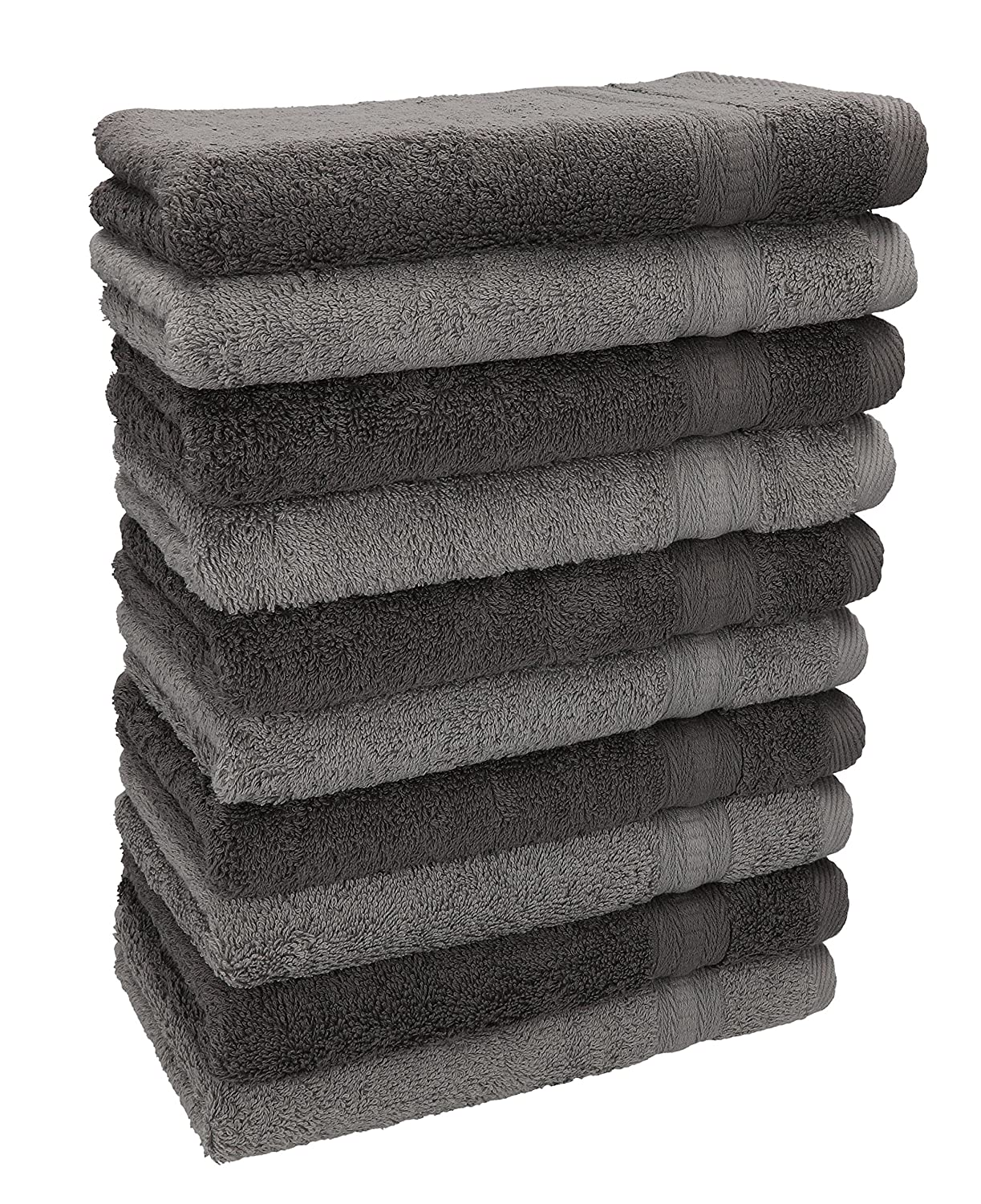 Betz Pack of 10 Guest Towels GOLD 600g/m² 100% Cotton 30x50 cm