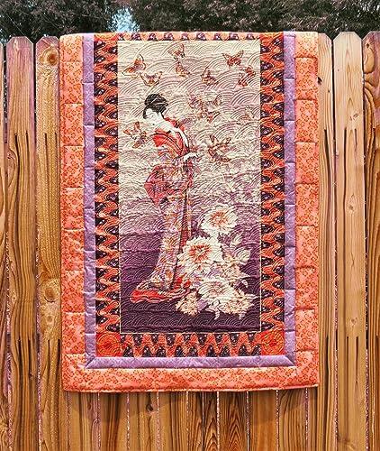 Handmade Asian-inspired Quilt