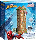 Crafty Cooking Kits Marvel Spiderman Holiday Skyscraper,  Gingerbread, 26.5 Ounce