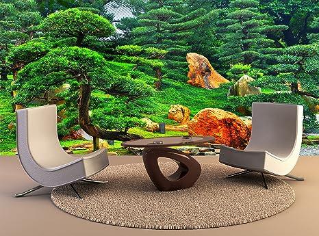Amazon Com Photo Wall Mural Zen Garden Wall Art Decor Photo