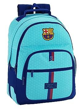 5d25210819a83 Safta Mochila Escolar F.C. Barcelona 2ª Equipacion 17 18 Oficial  320x150x420mm  Amazon.es  Equipaje