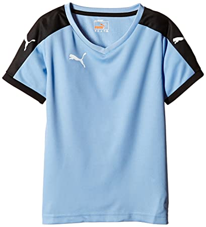 Puma Pitch Kids Jersey - Sky/Black - 164 cm