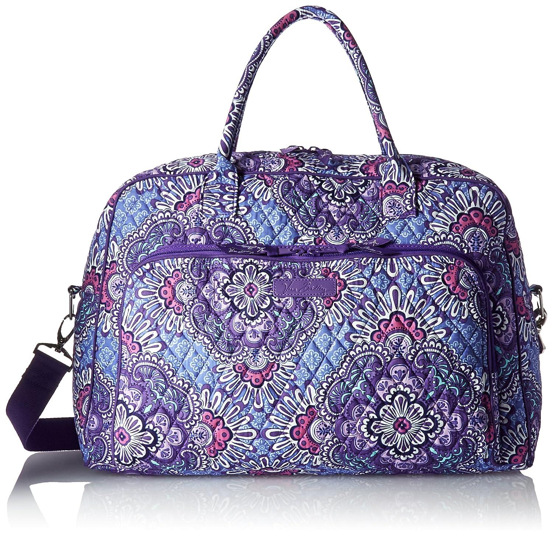 Vera Bradley Women s Signature Cotton Weekender Travel Bag