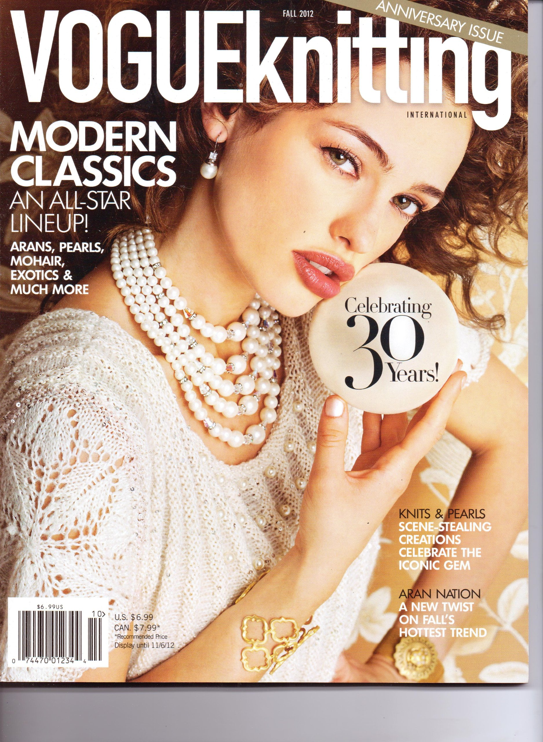Download VOGUE Knitting Magazine. 30th Anniversary Issue. Fall 2012. pdf