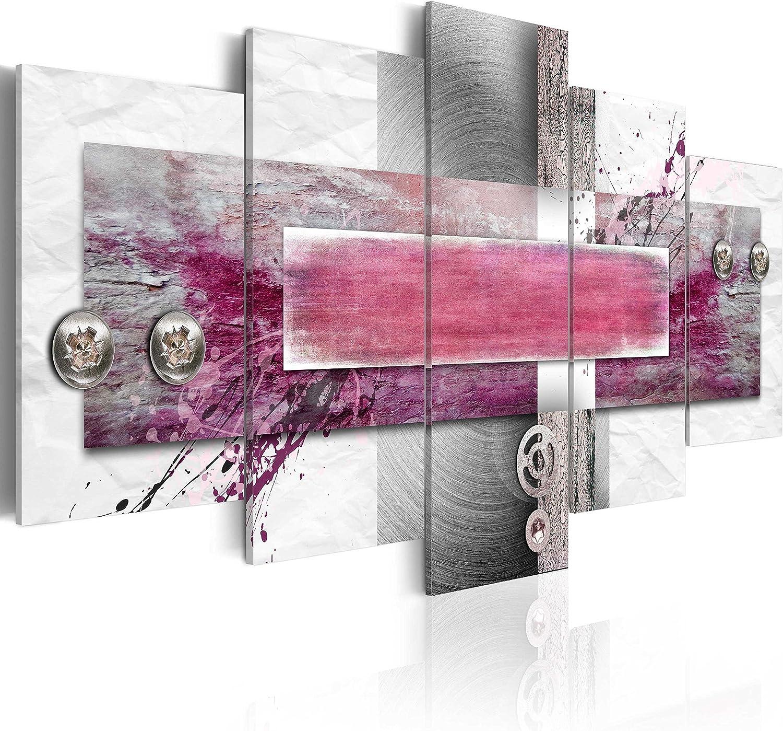 murando - Cuadro en Lienzo 100x50 - Impresión de 5 Piezas Material Tejido no Tejido Impresión Artística Imagen Gráfica Decoracion de Pared Abstracto 020101-187