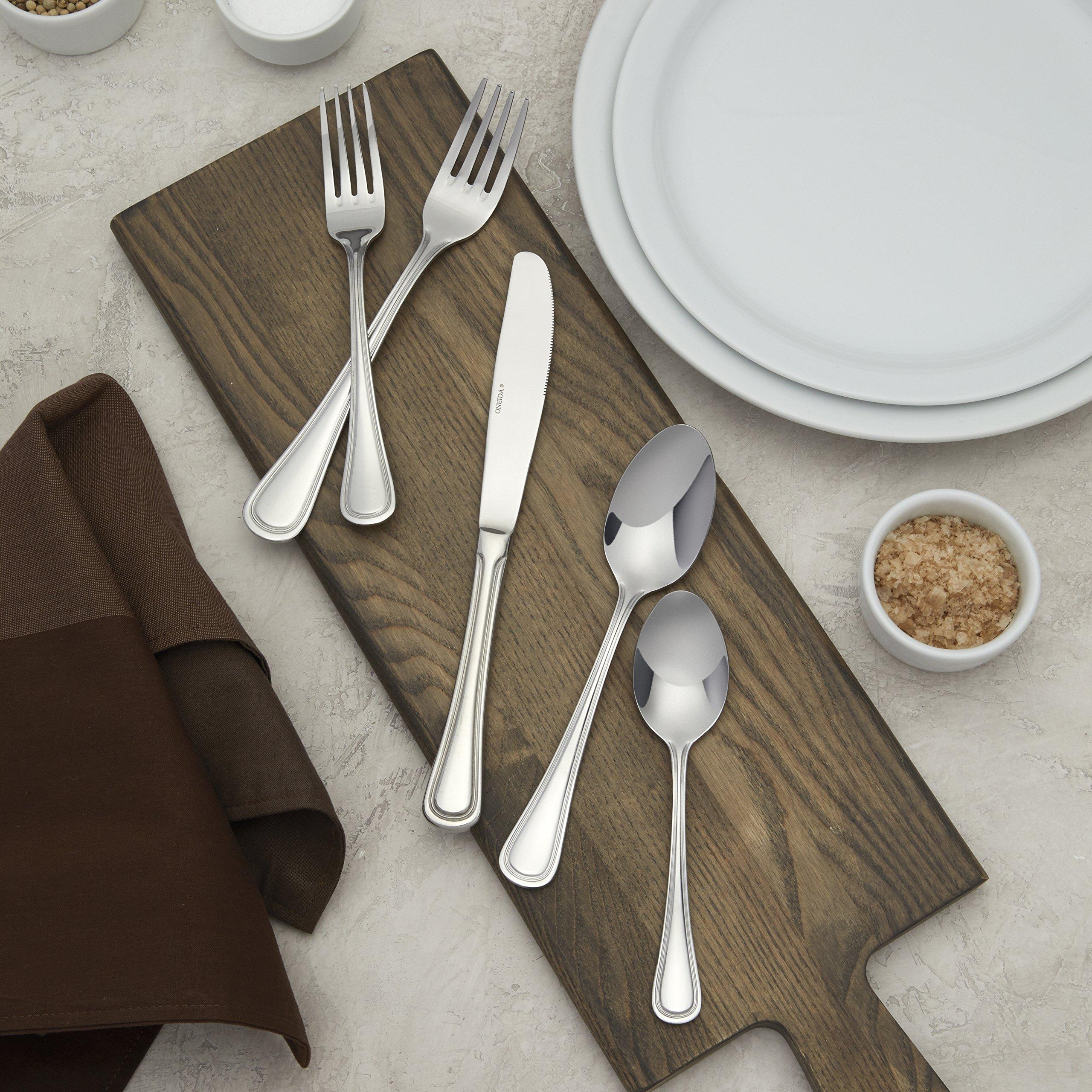 Oneida Foodservice B169SRBF Barcelona Soup Spoons, 18/0 Stainless Steel, Set of 36