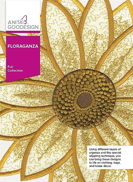 Amazon Anita Goodesign Embroidery Designs Floraganza