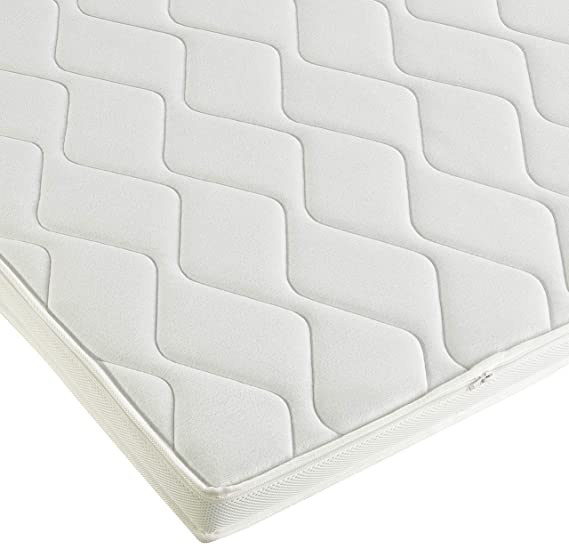 AmazonBasics - Sobrecolchón, espuma de alta resistencia, blando H2 - 100 x 200 cm: Amazon.es: Hogar