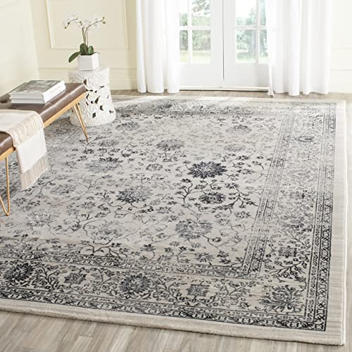 Safavieh Evoke Collection EVK510C Vintage Oriental Beige and Blue Area Rug 4 x 6
