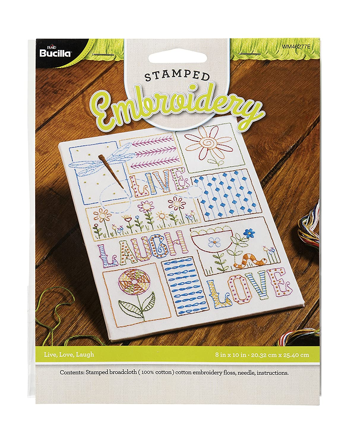 Bucilla Stamped Embroidery Plaid Enterprises WM46277E