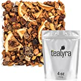 Tealyra - Florida Orange Juice - Ginger Apple Pear - Fruity and Herbal Loose Leaf Tea - Vitamines Rich - Hot and Iced Tea - Caffeine Free - 112g (4-ounce)