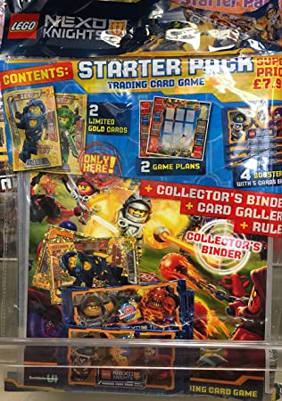 LEGO NEXO NIGHT 50 X SEALED PACKETS AND ALBUM