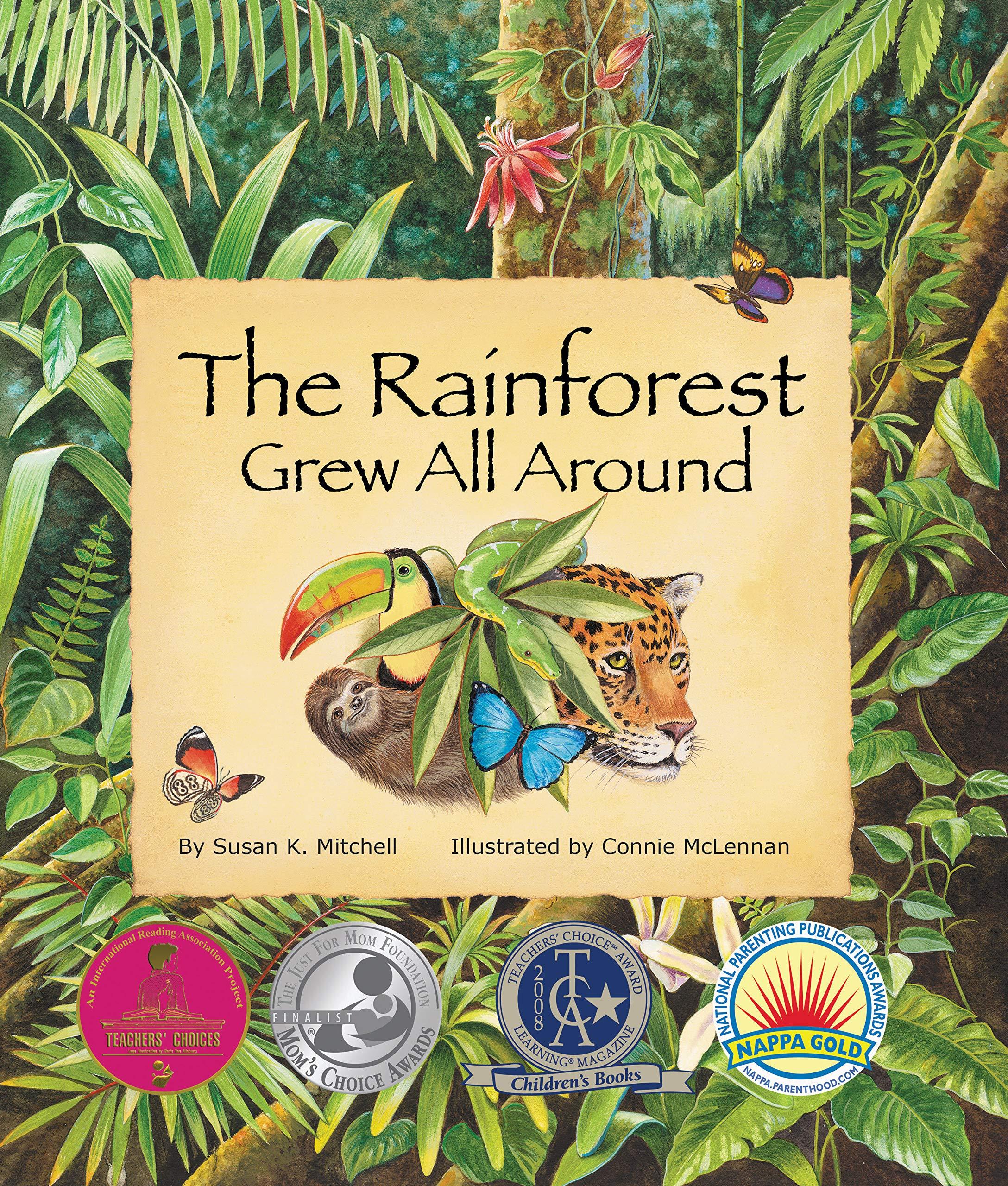 Amazon Rainforest Book