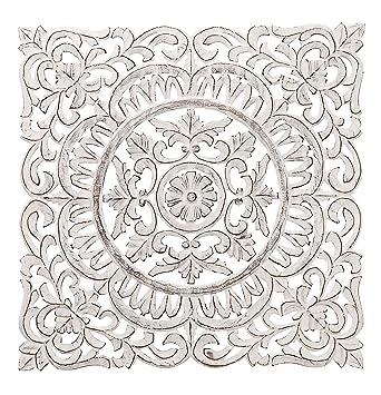 Regal Art U0026 Gift Carved Square Wall Decor, 30u0026quot;, ...