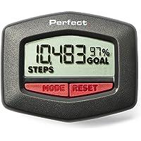 Podómetro de Fitness Perfecto, Paso + Distancia + calorías