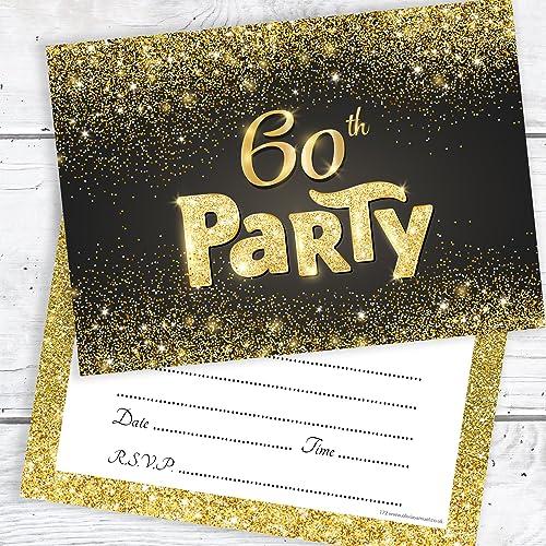 60th birthday invites amazon co uk