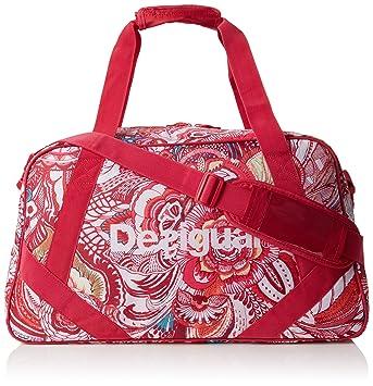 Desigual Bols L Bag, Sacs portés épaule Femme, (3192 Rouge Red), 24x28x38 ba6bb00d4aa3