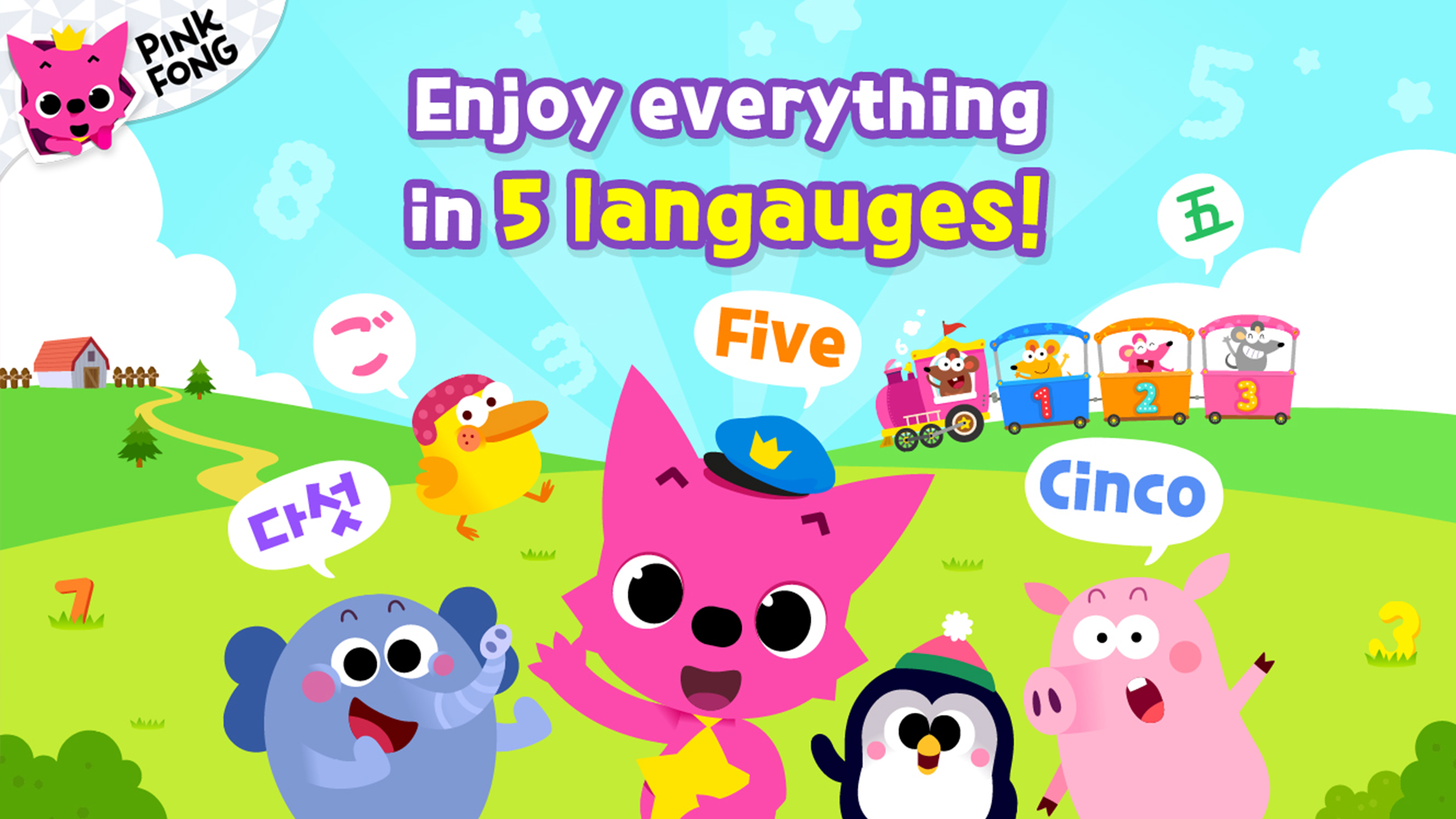 Pinkfong 123 Numbers Amazon Com Au Appstore For Android