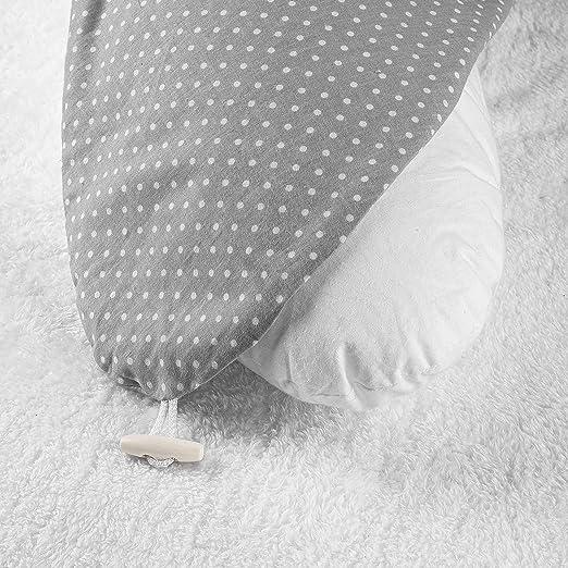 Fillikid Cojín Lactancia 190 cm | Almohada de Embarazo suave ...
